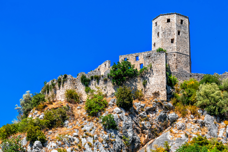 Pocitelj Castle day trips from Dubrovnik