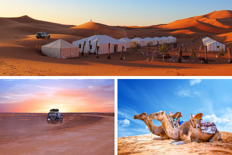 Private 4x4 Sahara Desert from Marrakech with Camel Ride and Desert Camp