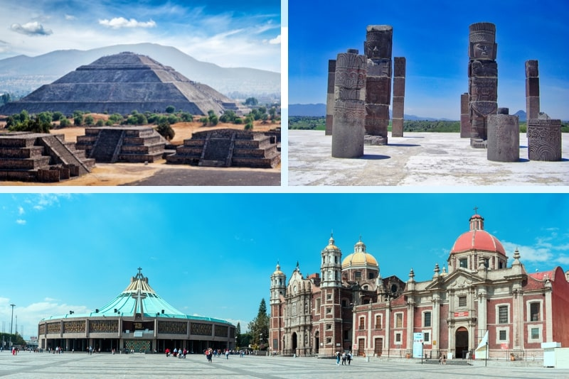 Private Tour Teotihuacan, Guadalupe Shrine & Tlatelolco mit Tequila-Tests