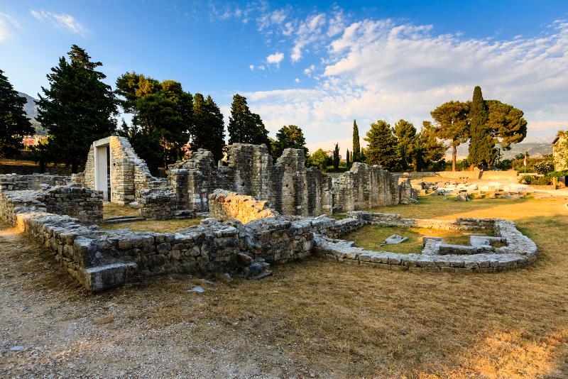 Excursiones de un día a las ruinas de Salona desde Split