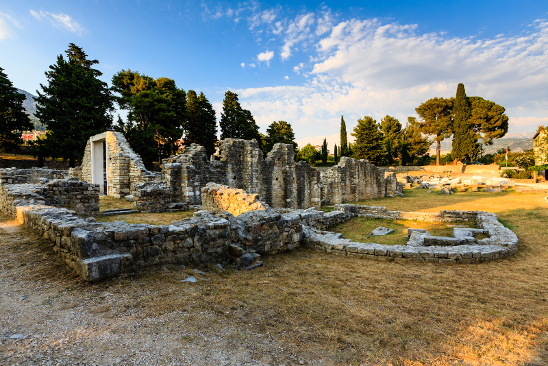Salona Ruins day trips from Split