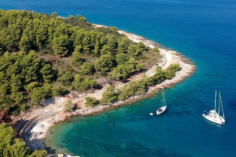 Solta Island day trips from Split