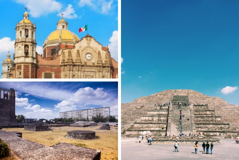 Teotihuacan, Schrein von Guadalupe & Tlatelolco Tagestour
