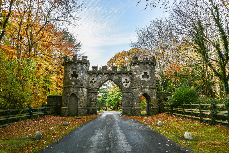 Tollymore Forest Game of Thrones filming location