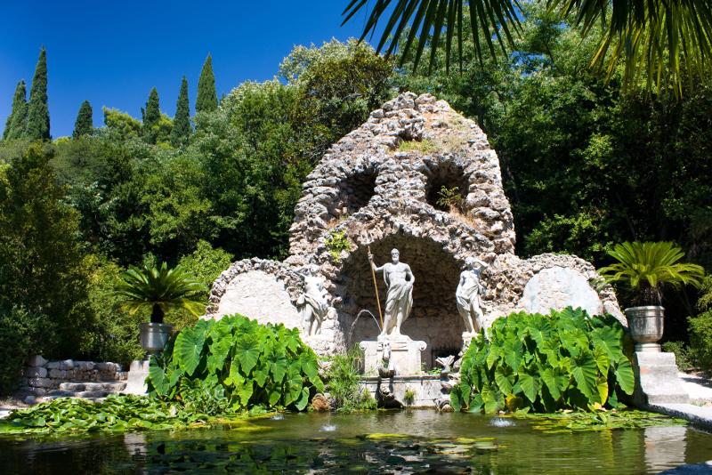 Trsteno Arboretum day trips from Dubrovnik