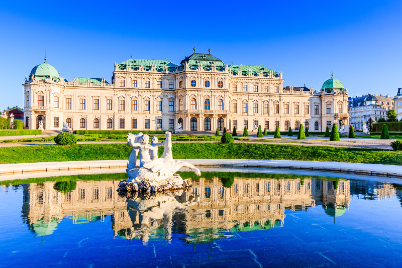 Vienna day trips from Budapest