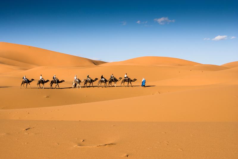 Zagora Desert day trips from Marrakech