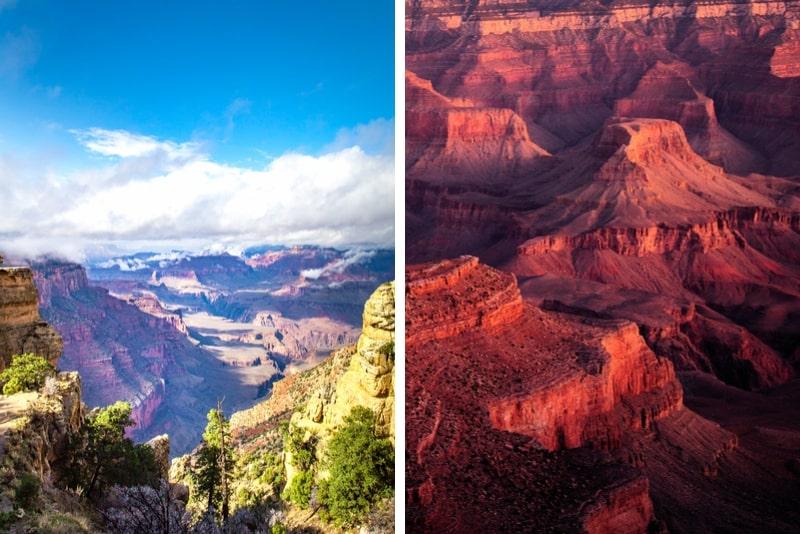 Grand Canyon Südkantenbustour