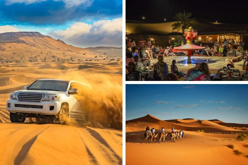 Safari Premium Red Dunes & Camel avec barbecue au camp d'Al Khayma