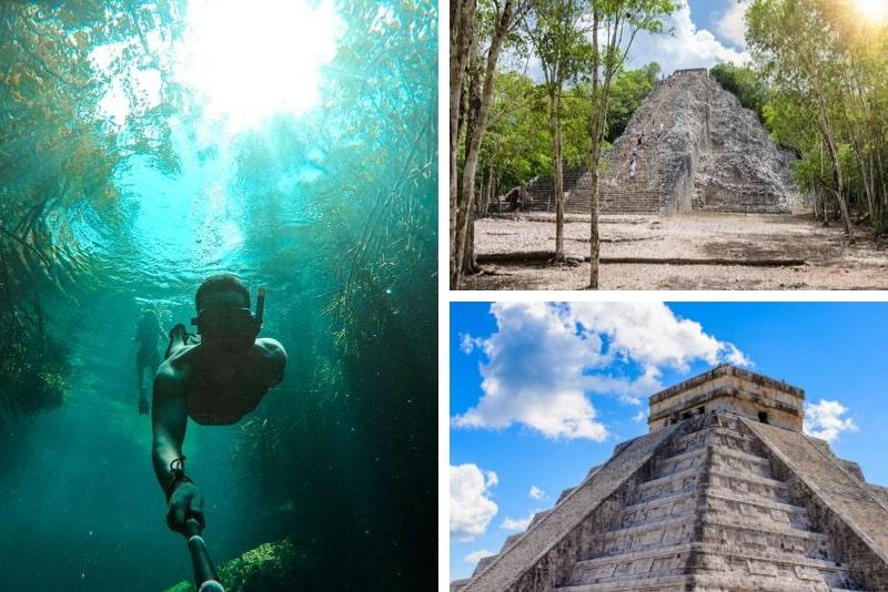 Chichen Itza, Coba and Ik-Kil Cenote Private Tour