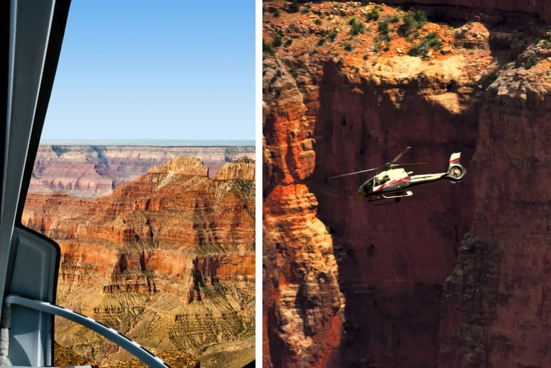 Amerikanische Hubschraubertour im Grand Canyon