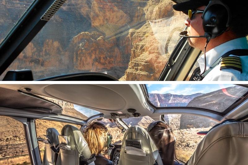 Schließen Sie Grand Canyon + Privatflüge ab