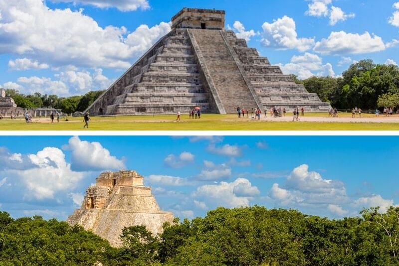 Yucatan Überblick Chichen Itza und Uxmal 2-Tages-Tour