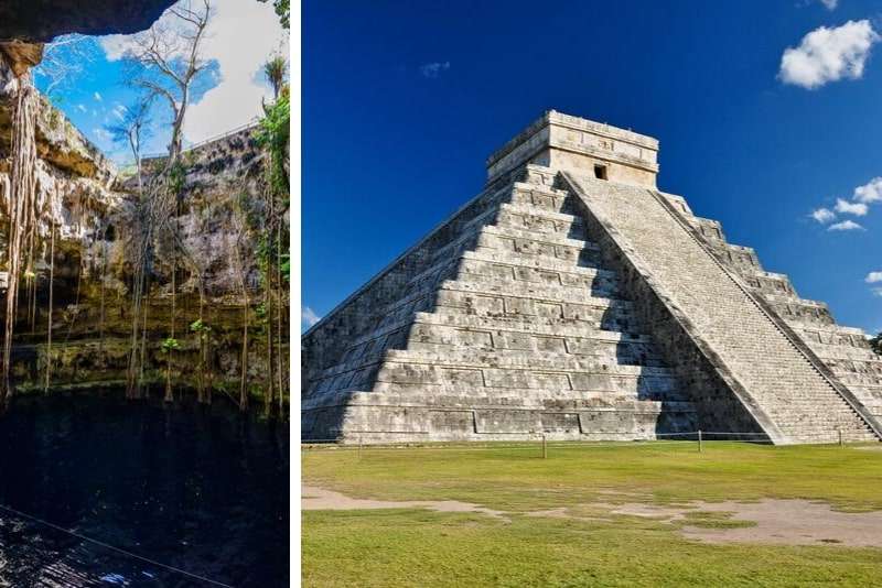 Chichen Itza Deluxe with Buffet Lunch & Cenote from Merida