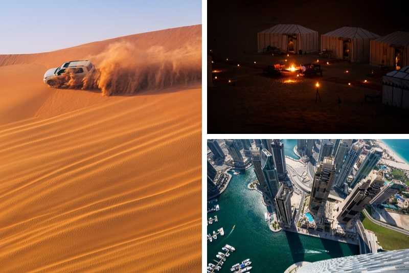 Dubai Super Saver City Sightseeing Tour et Desert Safari