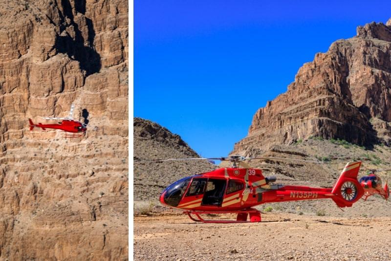 Grand Canyon Hubschrauberlandetour
