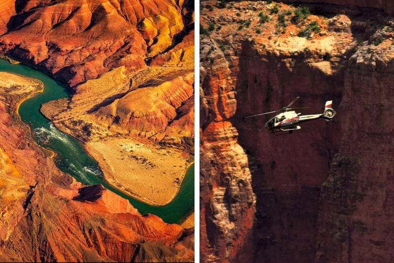 Grand Canyon Hubschrauber und Landausflug von Phoenix