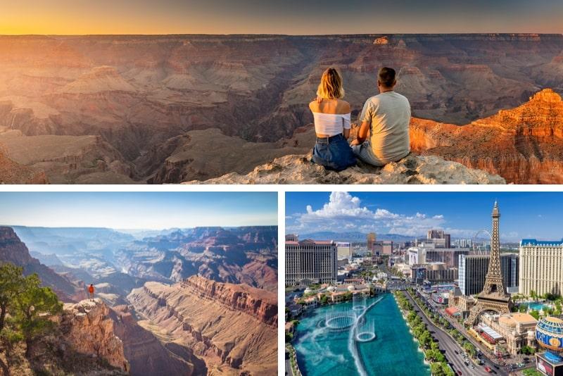 Las Vegas und Grand Canyon West Rim Tour ab Los Angeles