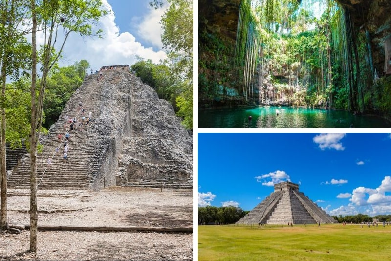 Chichen Itzá, Ik Kil and Coba Small Group Tour