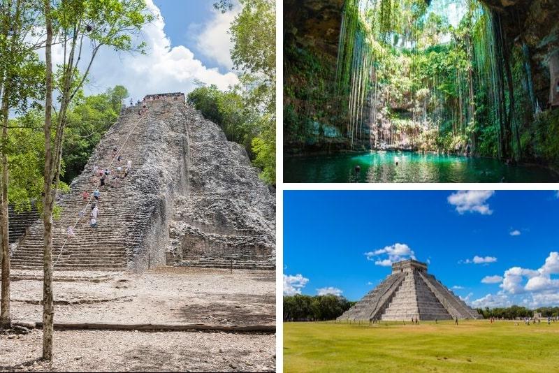 Chichen Itzá, Ik Kil und Coba Kleingruppentour