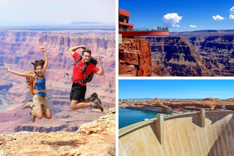 Grand Canyon West Rim und Hoover Dam Tour ab Las Vegas mit optionalem Skywalk