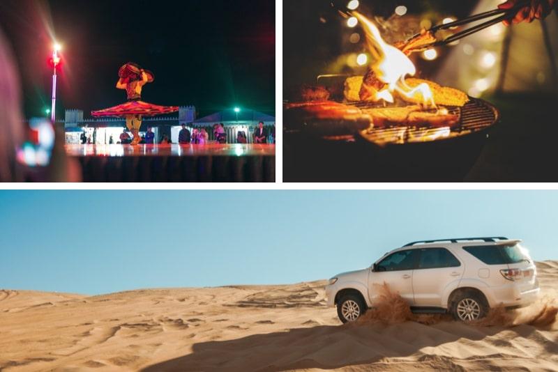 Red Dune Desert Safari with BBQ Dinner & Live Entertainment