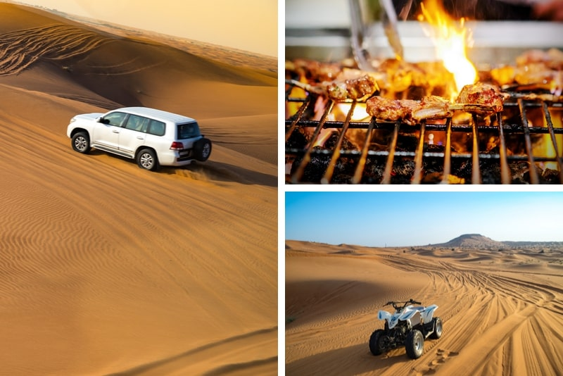Private Tour 4x4 Desert Adventure Safari from Dubai