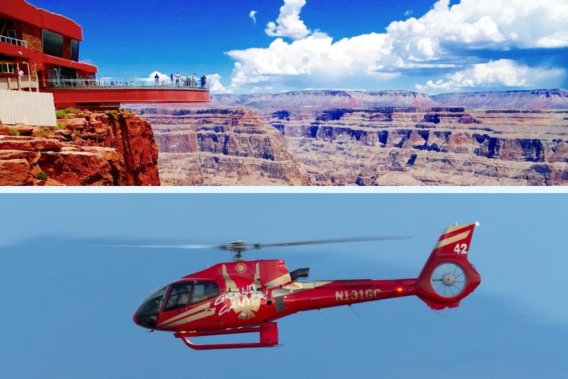 Überspringen Sie die Grand Canyon Skywalk Express Hubschraubertour
