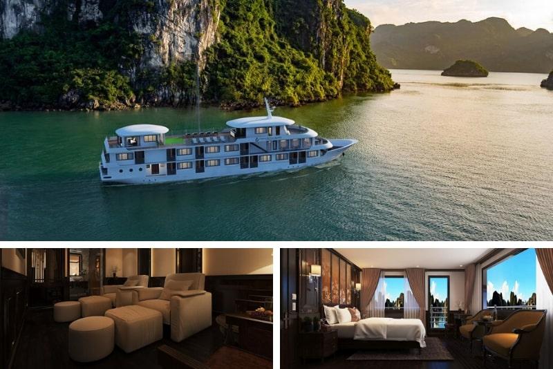 Athena Royal Cruise #11 Halong Bay luxury cruises