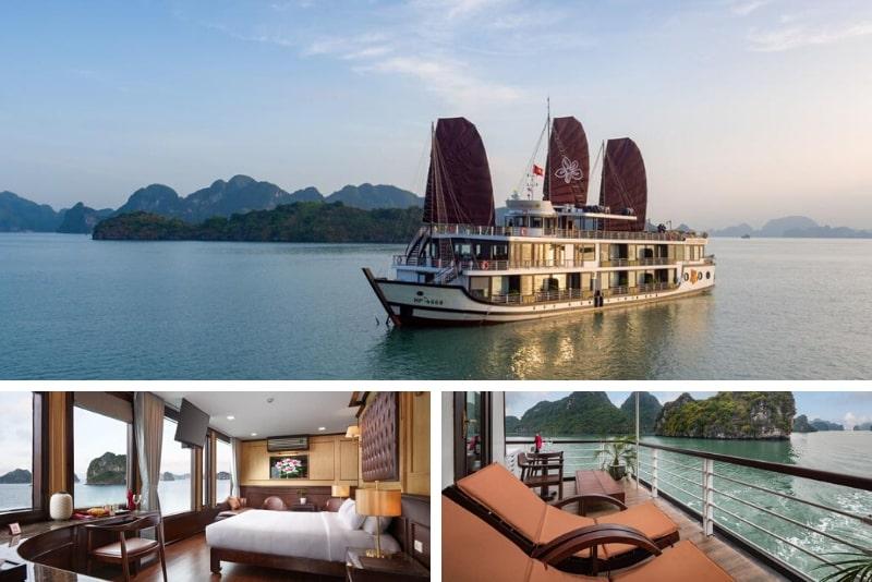 Azalea Cruise # 2 Halong Bay cruceros de lujo