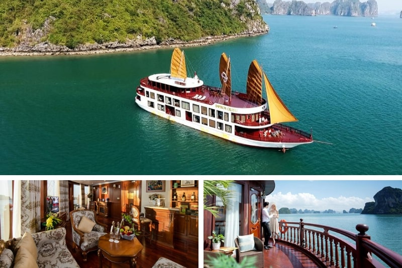 Emperor Cruises Ha Long # 14 Halong Bay cruceros de lujo