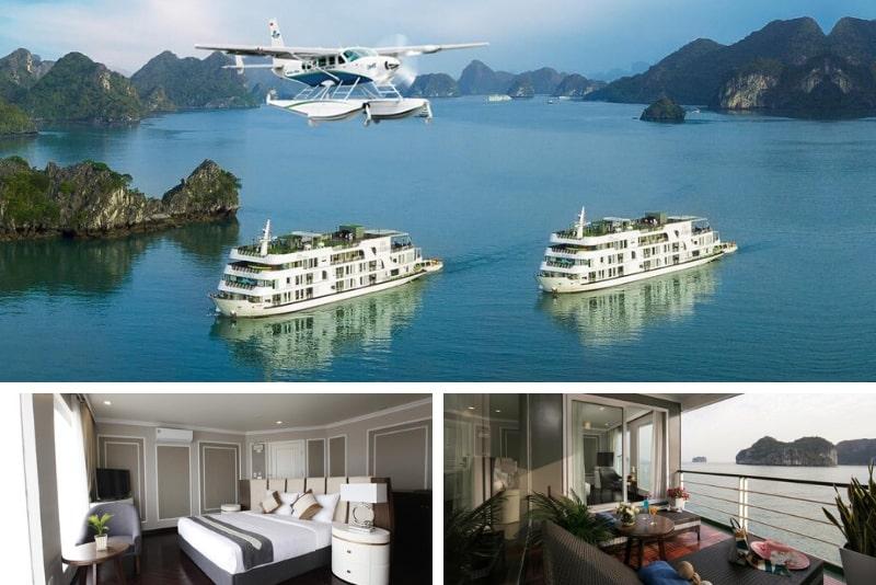 Era Cruises Halong # 6 Halong Bay cruceros de lujo