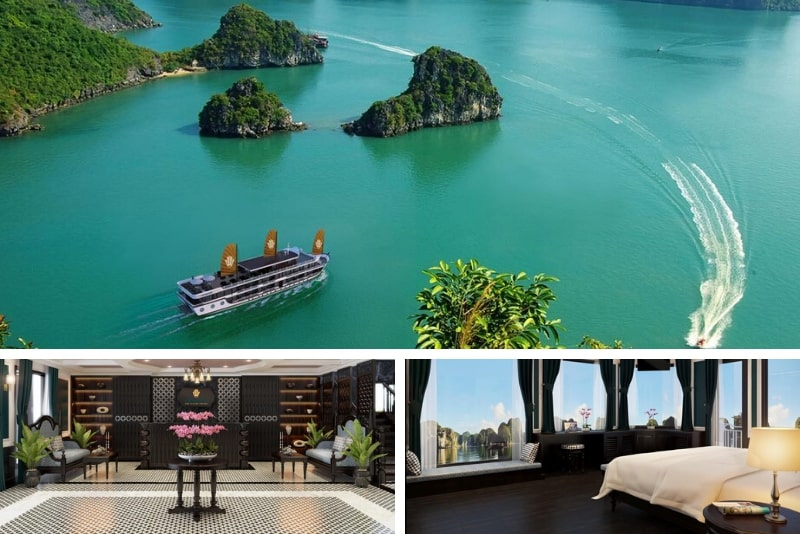 Genesis Luxury Regal Cruises # 7 Halong Bay cruceros de lujo
