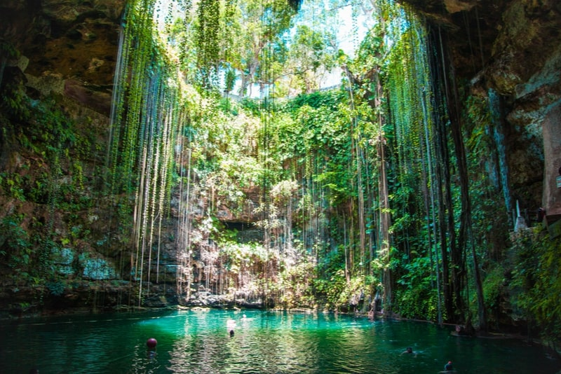 Ik Kil Cenote - Cancun excursions