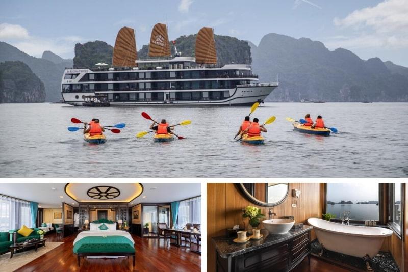 La Regina Legend Cruise #16 Halong Bay luxury cruises