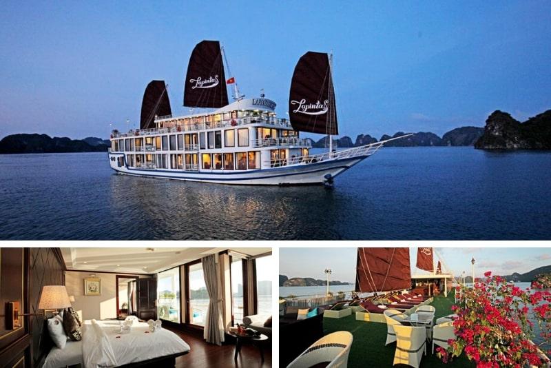 Lapinta Cruise Lan Ha Bay #17 Halong Bay luxury cruises