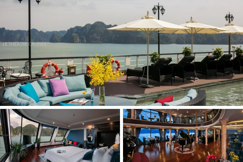 Le Theatre Cruises - Wonder on Lan Ha Bay # 9 Halong Bay cruceros de lujo