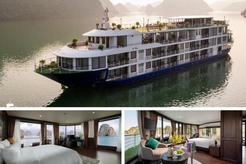 Mon Chéri Cruises #3 Halong Bay luxury cruises