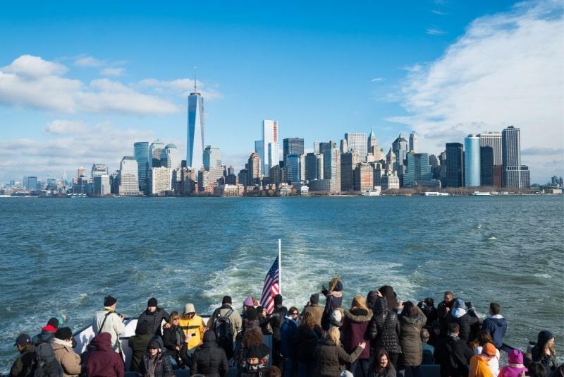 Consejos para viajar en barco por Nueva York