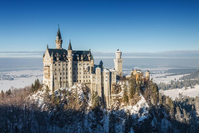 Schloss Neuschwanstein beste Reisezeit