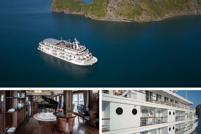 Paradise Elegance Cruise Halong #10 Halong Bay luxury cruises