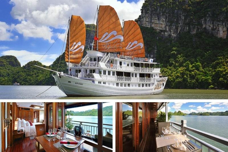Paradise Peak Cruise # 20 Halong Bay cruceros de lujo