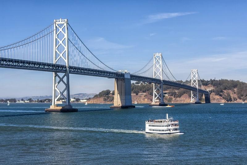 San Francisco bridge to bridge boat tours