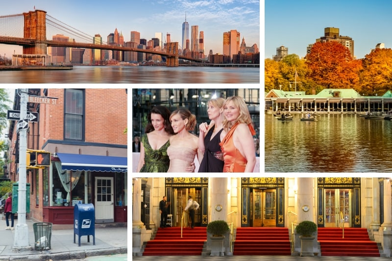 Sex and the City filming locations in New York