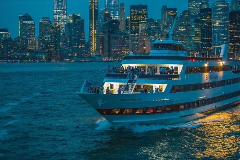 Cena crucero Spirit of New York
