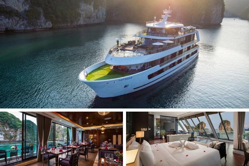 Stellar of the Seas Cruise #1 Halong Bay luxury cruises