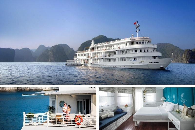 The Au Co Cruise - Managed by Bhaya Cruise #13 Halong Bay luxury cruises