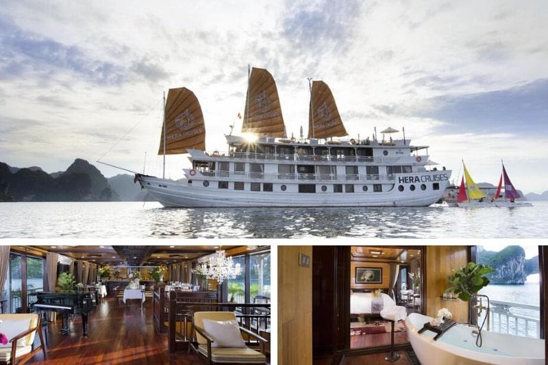 Ultralux Hera Cruise # 21 Halong Bay cruceros de lujo