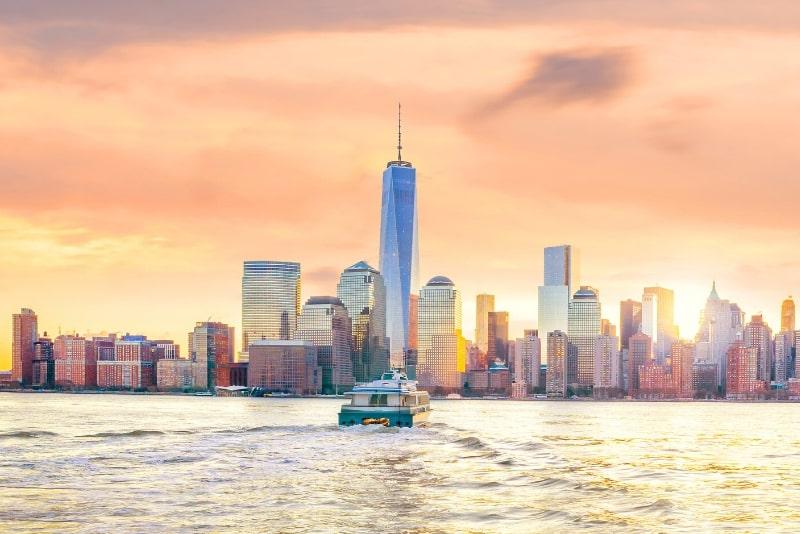 mejor momento para hacer un recorrido en barco en Nueva York