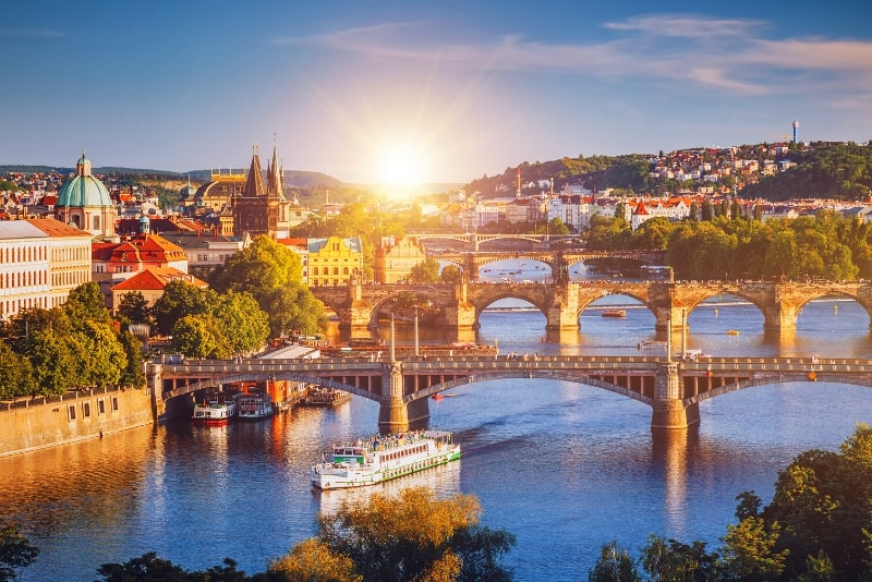 best time to go on a river cruise in Prague